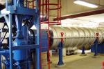 """La machine de pyrolyse """"3R"""", utilisée pour la fabrication de biocharbon"""