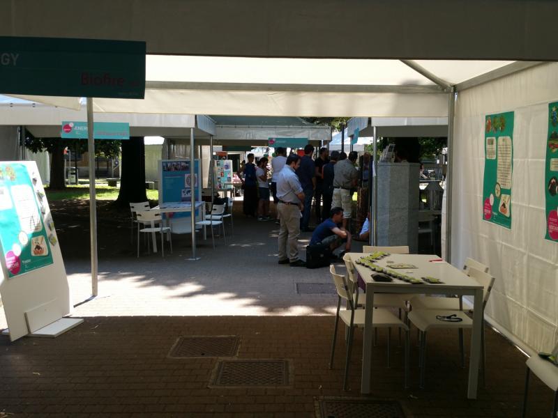 Biochar Expo in Milan, Italy